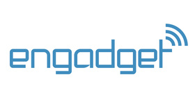 Engadget logo large white bg article