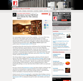 Literature lovers fall head over heels for the library hotel   midtown   hells kitchen nightlife   the library hotel collection article