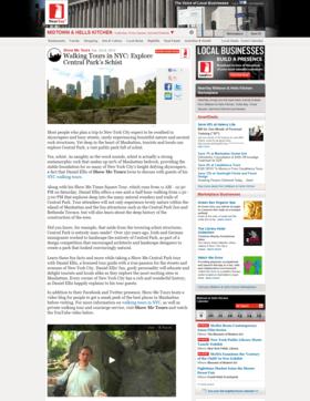 Walking tours in nyc explore central park%e2%80%99s schist   midtown   hells kitchen activities   health   show me tours article