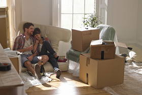 New house move in article