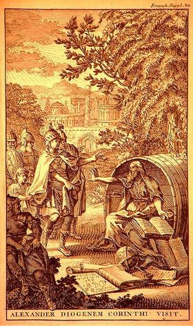 355px alexander visits diogenes in corinth  diogenes asks him to stand out of his sun %281696%29 article