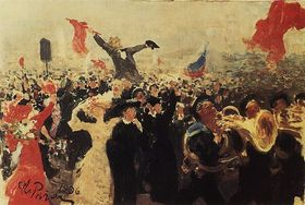 800px demonstration on october 17, 1905 by ilya repin %28adumbration 1906%29 article