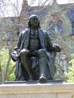 Ben franklin sculpture university of pennsylvania 225x300 article