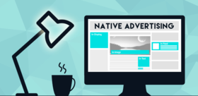 Native advertising article
