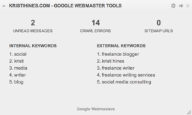 Seo dashboard google webmaster tools widget article