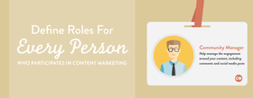 Content marketing team roles article