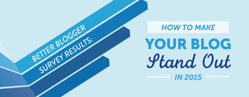 Better blogger survey results how to stand out in 2015 article