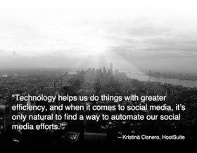 Social media automation quote 300x233 article