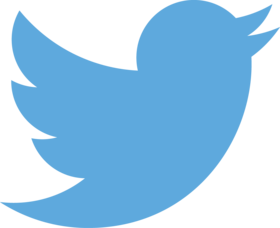 Twitter logo blue article
