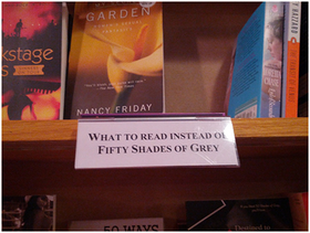 What to read instead of fifty shades of grey article