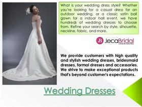 Wedding dresses 1 638 article