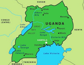 Uganda map article
