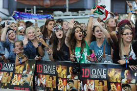 O one direction fans facebook article