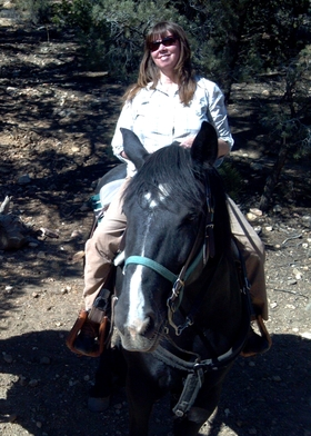 Cindy horseback riding article