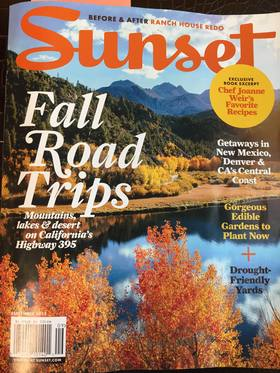 Sunset september issue article