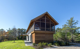 North pamet ridge house hammer architects main article