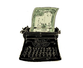 Typewriter money featured article