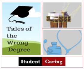 Tale of the wrong degree student caring  article