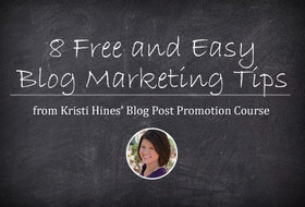 Blog post promotion article