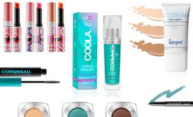 Sweat proof makeup article