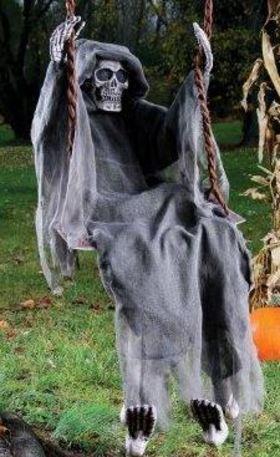 Swinging reaper  costume express article
