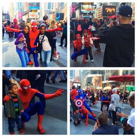 I dressed up as spider man in times square 2 article
