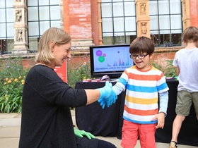 The handshake agreement wearable donations at the va digital design weekend article