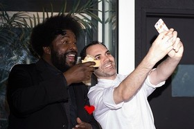 Questlove and dominque ansel at dessert party selfie 500 500x333 article