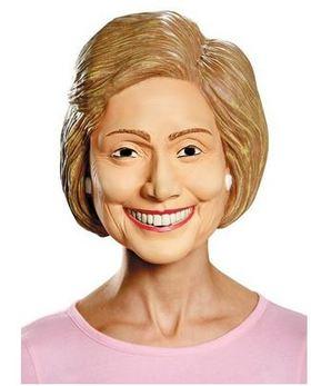 Hilary clinton mask   costume supercenter article
