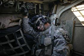 Sleeping soldier article