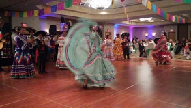 Dancers at mexican gala article