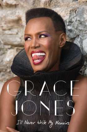 Grace jones book cover article