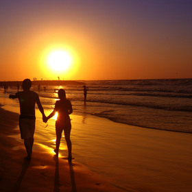 Punta cana couple on beach article