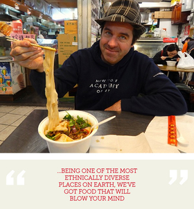 Living and eating in queens   in search of taste article