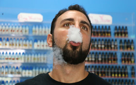 Ecig smoke article