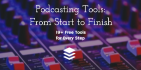 Podcasting tools article