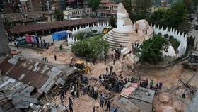 Nepal earthquake damage article