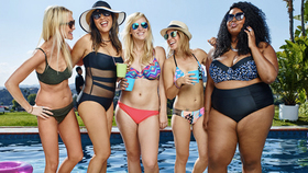 Target body positive swimwear campaign article