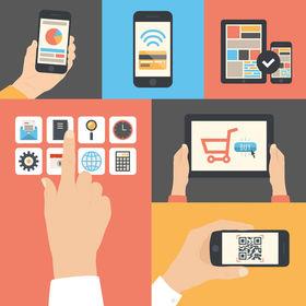 Mobile app vectors article