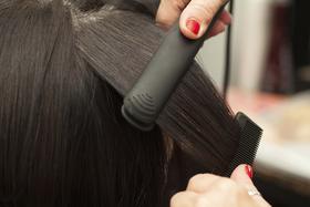 Hair straightening article