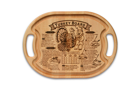 Turkey carving board article