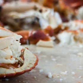 Cromer crab dressed article