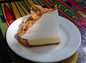 Blue heaven key lime pie article