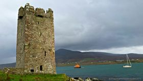 Grainnes castle achill island article