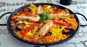 Spanish paella article