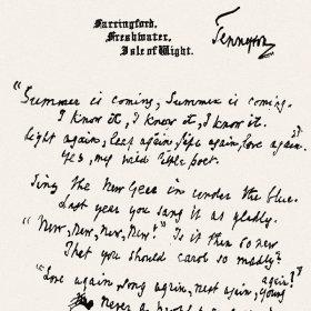 Tennyson article