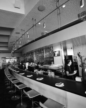 Article slanted door interior bw 500x625 article