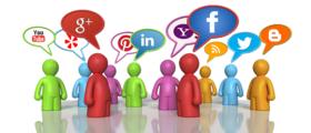 Using social media for community article