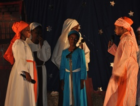 The christmas story with a charming twist acted by warrens primary school students article