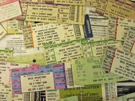 Bruce springsteen tickets credit caryn rose village voice article